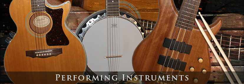 Jeff Silverman's Performing Instruments