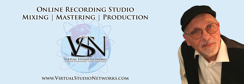 Virtual Recording Studio Networks